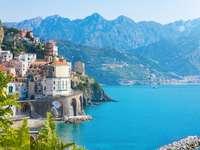 Région de la côte amalfitaine de Campanie Italie - Région de la côte amalfitaine de Campanie Italie