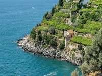Region Amalfinské pobřeží Kampánie Itálie - Region Amalfinské pobřeží Kampánie Itálie