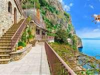 Вила на брега на Амалфи Регион Кампания Италия - Вила на брега на Амалфи Регион Кампания Италия