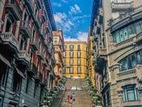 Región de Nápoles de Campania Italia