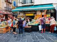 Neapolský region Kampánie Itálie