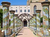Napoli Monastero Santa Chiara Campania Italia - Napoli Monastero Santa Chiara Campania Italia