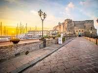 Neapel Castel Dell Ovo Region Campania Italien - Neapel Castel Dell Ovo Region Campania Italien