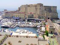 Naples Castel Dell Ovo Région Campanie Italie - Naples Castel Dell Ovo Région Campanie Italie