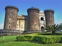 Neapel Castel Nuovo Region Kampanien Italien