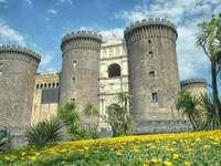 Neapol Castel Nuovo Region Kampania Włochy - Neapol Castel Nuovo Region Kampania Włochy