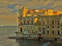 Nápoly Palazzo régió Campania Olaszország - Nápoly Palazzo régió Campania Olaszország