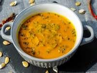 Zuppa di zucca - Mangia una zuppa di zucca