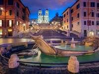 Praça Piazza di Spagna - Espanha - m ......................