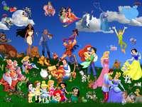 Disney- personajes de diferentes cuentos de hadas - m ...................