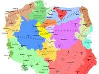 Regiões da Polônia - Regiões e terras históricas da Polônia
