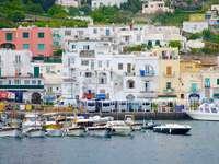 Capri Insel im Golf von Neapel Italien - Capri Insel im Golf von Neapel Italien