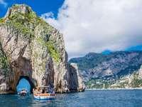Νησί Κάπρι στον Κόλπο της Νάπολης Ιταλία - Νησί Κάπρι στον Κόλπο της Νάπολης Ιταλία