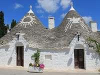 Alberobello Case trulli tradiționale în Puglia - Alberobello Case trulli tradiționale în Puglia