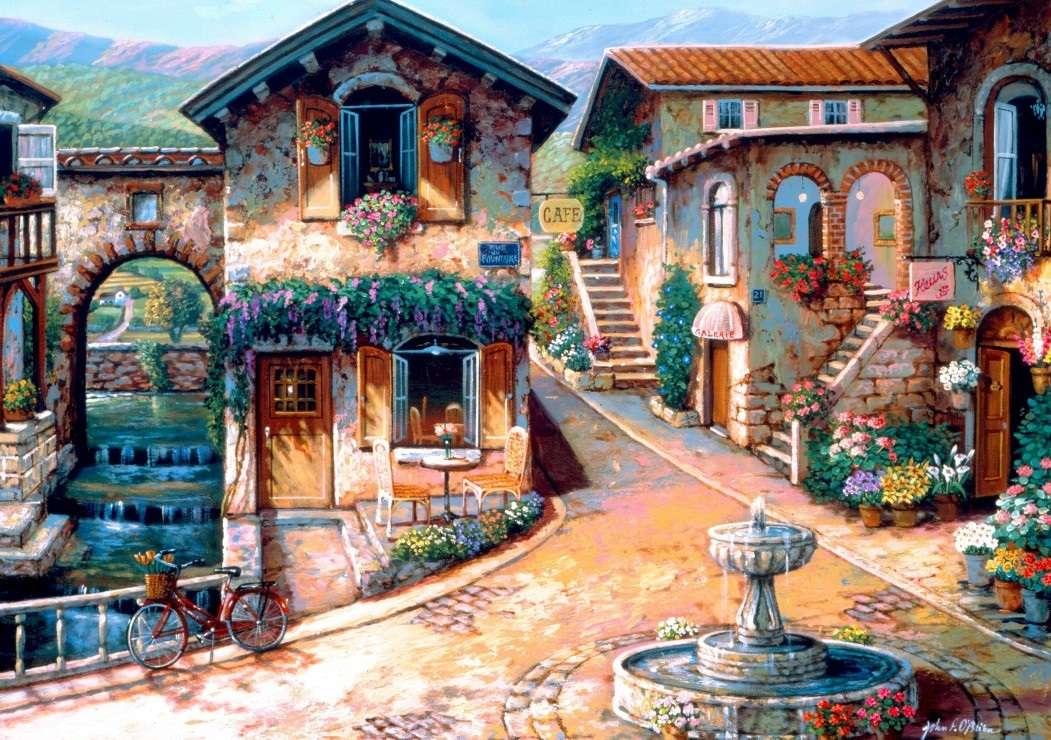 Malerei - Puzzle. Malerei (12×9)