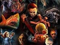 Персонажи на ужасите - Филми на ужасите Герои от филми на ужасите