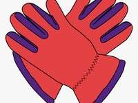 Mănuși pentru clasa a II-a - puzzle al mănușilor pentru clasa a II-a