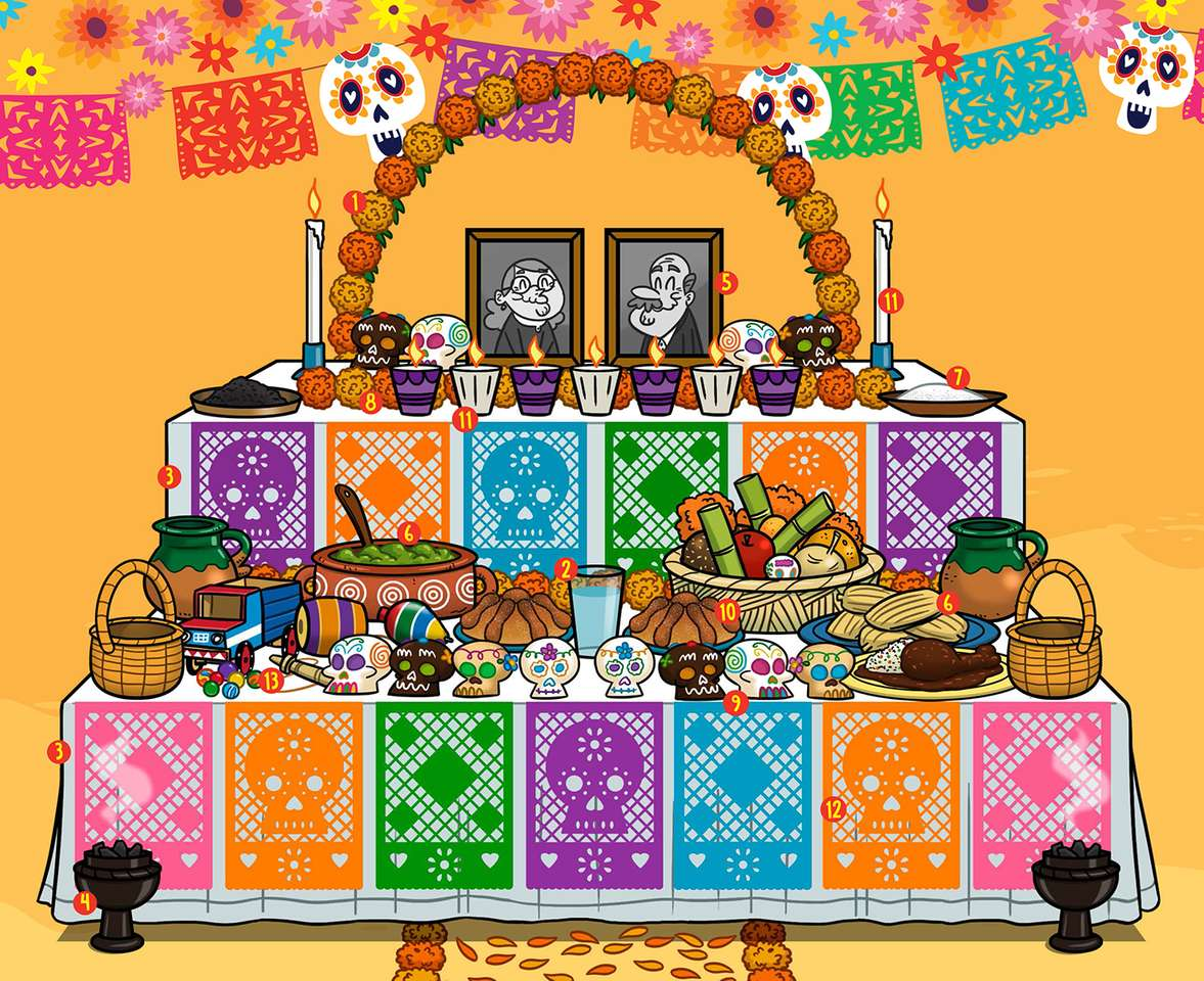 Dag för det döda altaret - kom ihåg viktiga traditioner i vårt land (9×8)