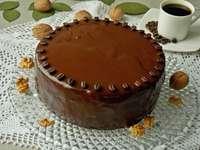ořechový dort s kávou - m ......................