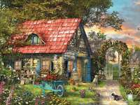 Country Life - House, garden, animals, flowers