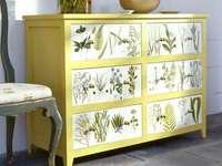Decoupage - tecnica di decorazione - armadio - m ........................