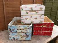 Decoupage - a technique of decorating- boxes - m ........................