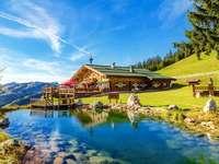 Haus in den Bergen. - Ferienhaus in den Bergen, Fluss .....