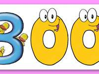 αριθμός 300 - συμπληρώστε το βασικό παζλ 300, αναγνωρίστε και αναγνωρ�