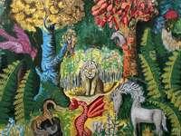 Gemälde von Teofil Ociepka - primitive Malerei Teofil Ociepka