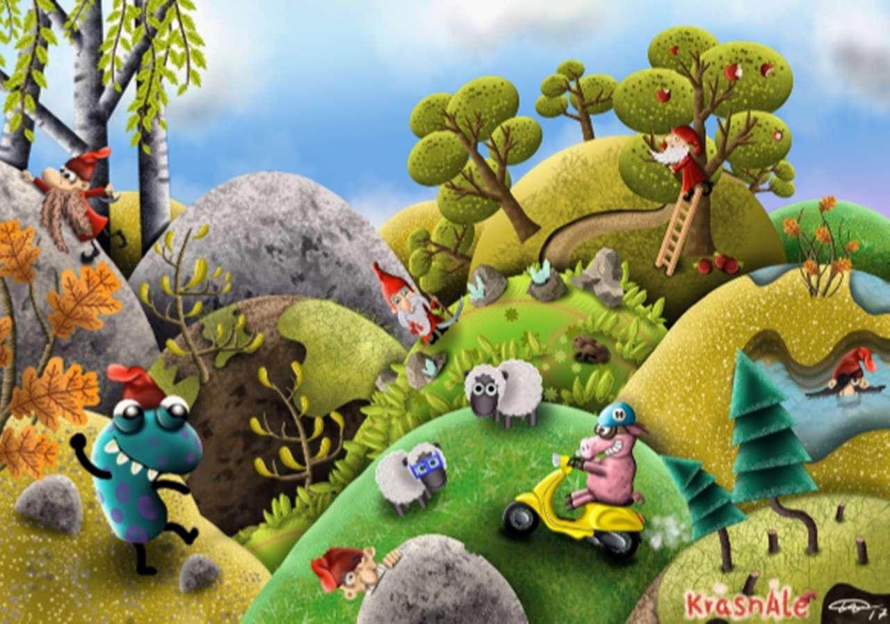 illustratie - illustratie voor kinderboek (14×10)