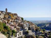 Badolato Stadt in Kalabrien Italien - Badolato Stadt in Kalabrien Italien