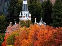 St Thomas Catholic Couer d Alene Idaho - St Thomas Catholic church in the fall