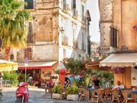 City in Calabria Italy