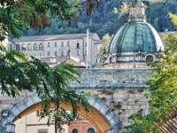 Stad i Kalabrien Italien