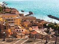 Pizzo Stadt in Kalabrien Italien - Pizzo Stadt in Kalabrien Italien