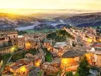Stilo Stadt in Kalabrien Italien - Stilo Stadt in Kalabrien Italien