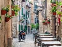 Miasto Tropea w Kalabrii we Włoszech