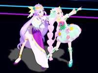3d varázslányok lila varázslatos zöld tündér aranyos - 3d varázslányok lila varázslatos zöld tündér aranyos