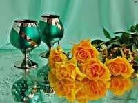pomarańczowe róże - m.....................