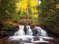 National Park - Michigan State, Waterfall - m .....................