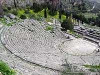 GRIECHISCHES THEATER - RUINEN EINES GRIECHISCHEN THEATERS