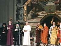 interreligious - It is an image where people of different religions with different deities appear