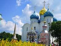 Szergijev Poszad - egy város Oroszországban - egy templom - m .......................