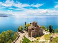 macedonia- sea, castle - m ....................