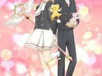 Sakura y Shaoran Clear Card - Sakura y Shaoran Sakura Clear Card