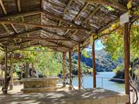 Picnic area with views. - Picnic area with views in Arribes del Duero.