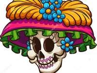Catrina Dia dos Mortos - Tradição mexicana no dia dos mortos