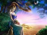Imaginação - Uma figura de mulher fabulosa
