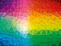 Gradiente - gradiente de abstração de quebra-cabeça