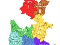 Regiões - Regiões do estado de Puebla